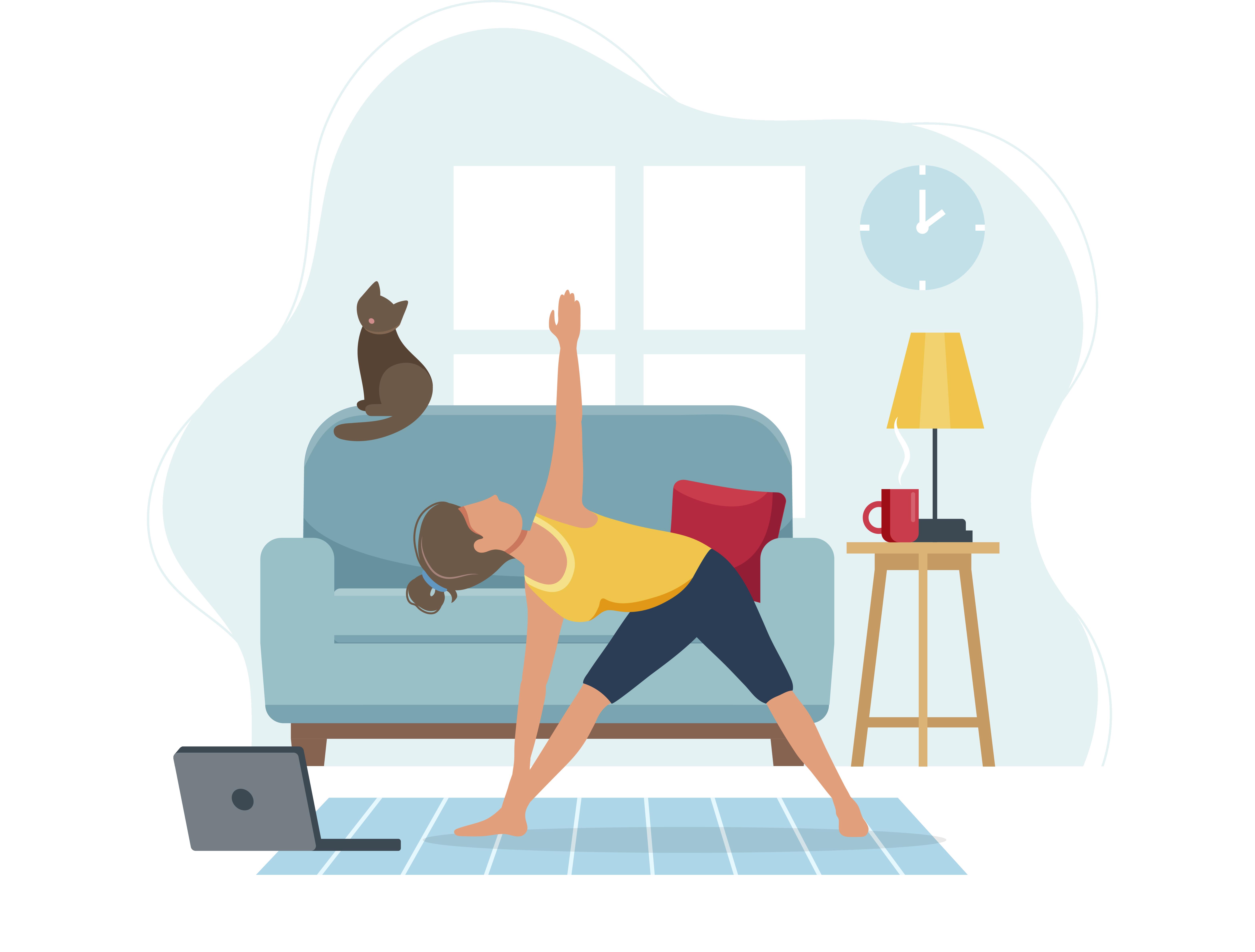 2020 Conference_Girl yoga